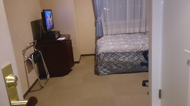 千歳ステーションホテル 部屋1