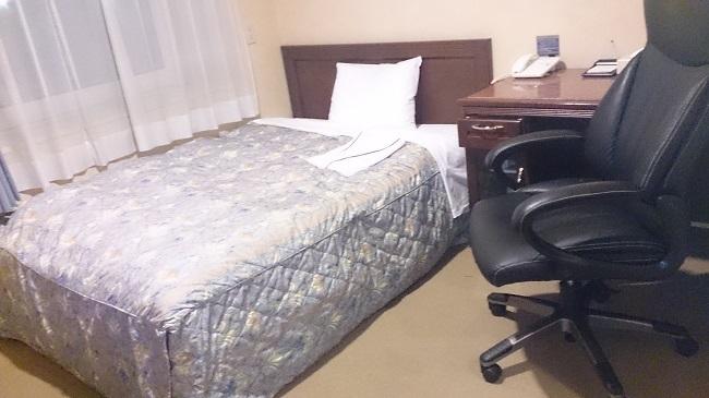 千歳ステーションホテル 部屋 ベッド