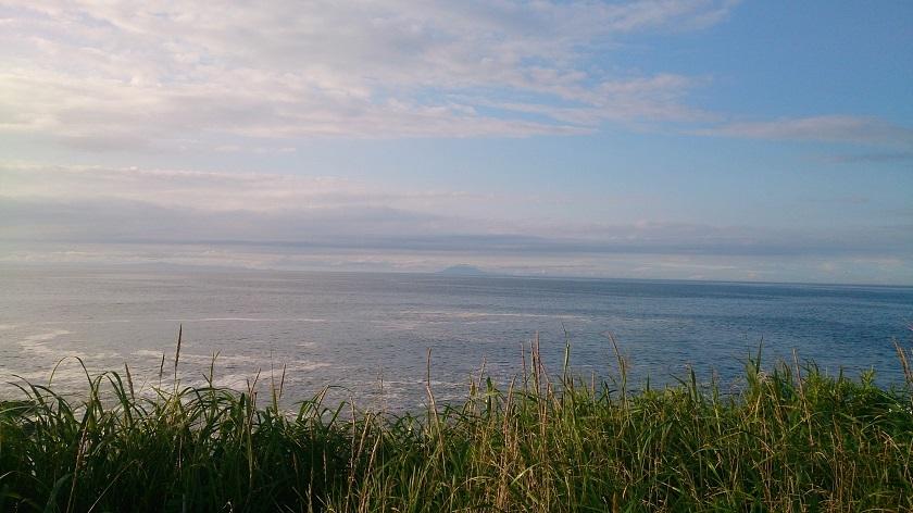 納沙布岬 歯舞群島を望む