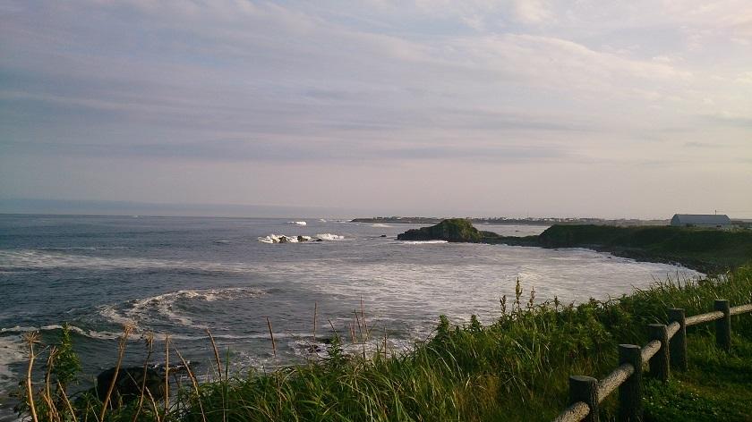 納沙布岬 全景