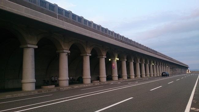 稚内港北防波堤ドーム2