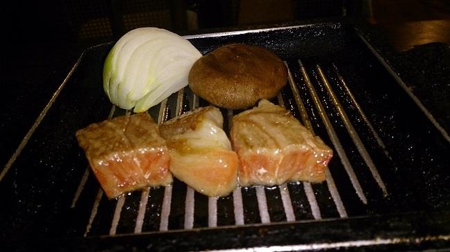 彩岳館 夕食料理 黒毛和牛2