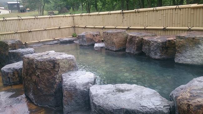 ホテル峰の湯 大浴場 露天風呂