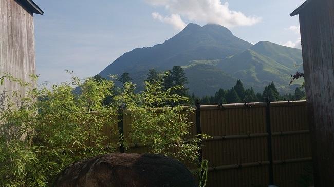 彩岳館 風呂からの眺望