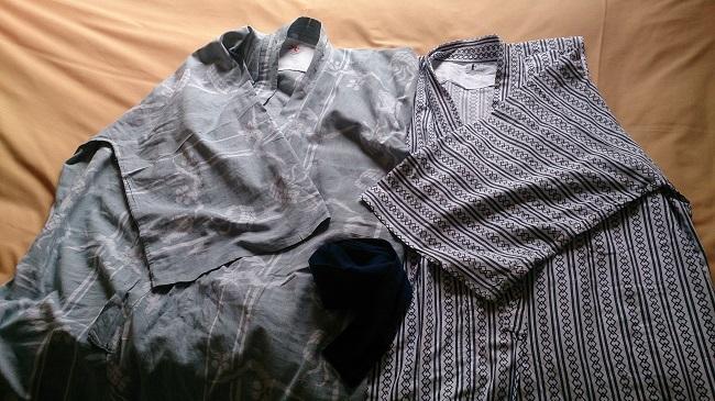 柚富の郷 彩岳館 浴衣(スペア付き)