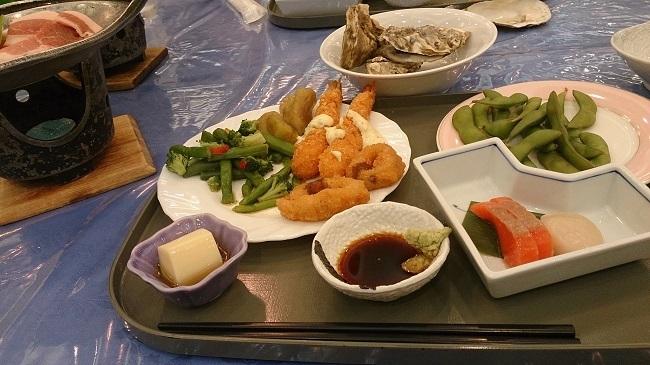 ホテル福原 夕食バイキング1