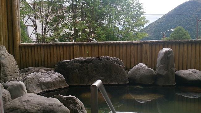 ホテル福原 大浴場 露天風呂2