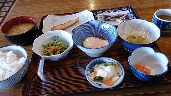 正観湯温泉旅館 朝食