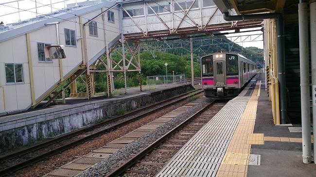 碇ヶ関駅 ホーム