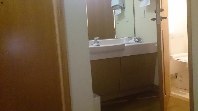 ホテルグランド天空 和室 洗面台