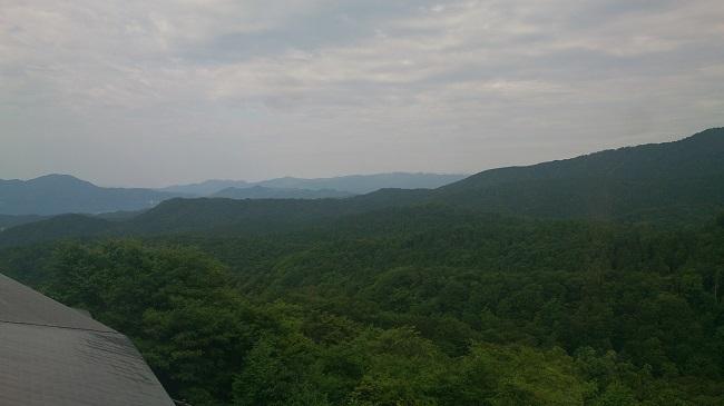 ホテルグランド天空 部屋からの眺望
