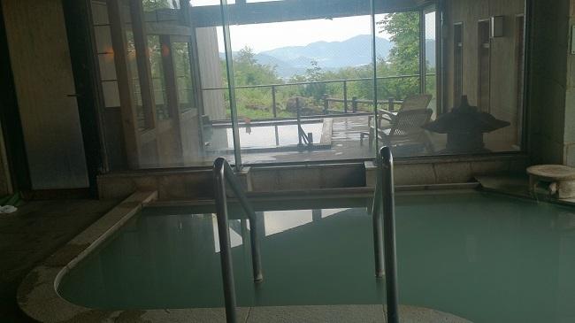 ホテルグランド天空 大浴場 露天風呂1