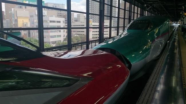 盛岡駅 ドッキング1
