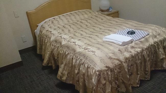 那須塩原ステーションホテル 部屋 ダブルベッド