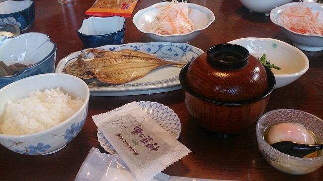 御宿 喜久丸 朝食