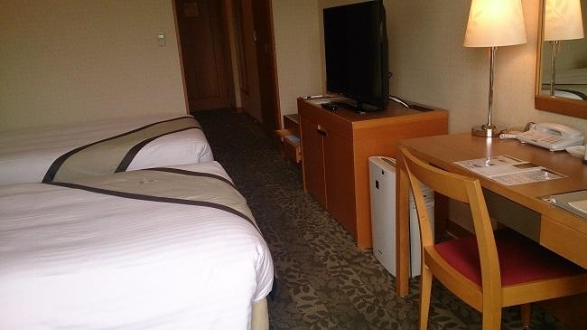 ホテル日航熊本 部屋 備品