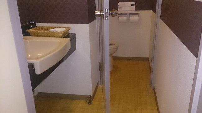 和の宿夢月 部屋 トイレ