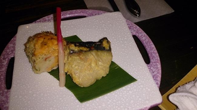 和の宿夢月 食事処 夕食料理2