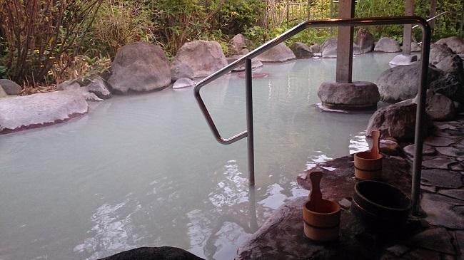 青雲荘 露天風呂