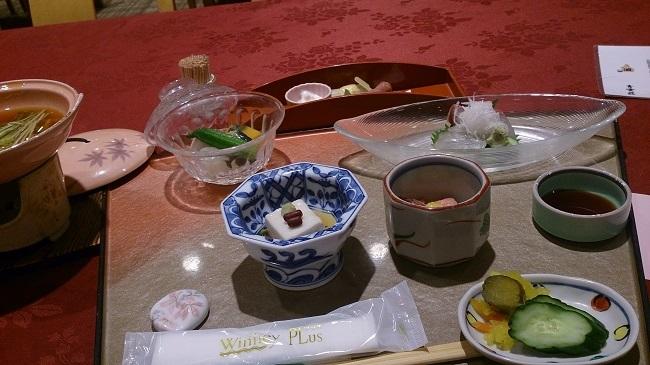 青雲荘 夕食