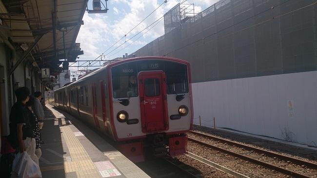 八代行き普通列車