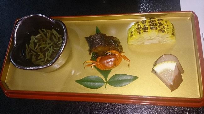 芳野旅館 夕食料理 先付け
