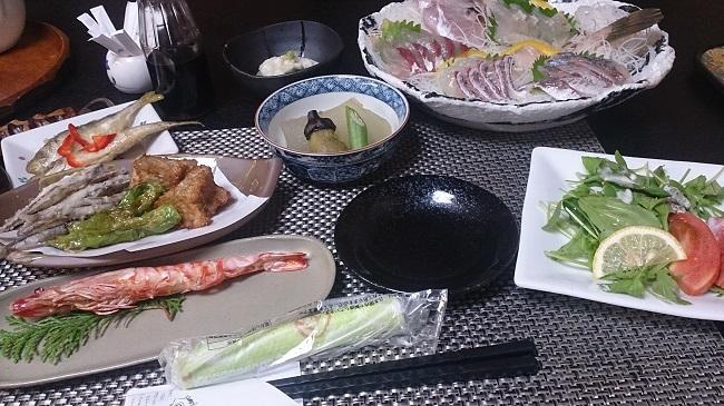 民宿大漁丸 夕食料理 大漁