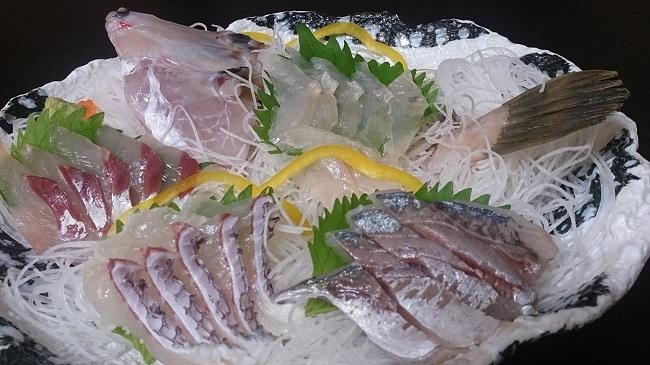 民宿大漁丸 夕食料理 刺身