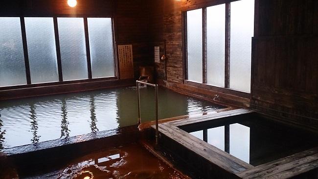神の郷温泉 檜風呂1