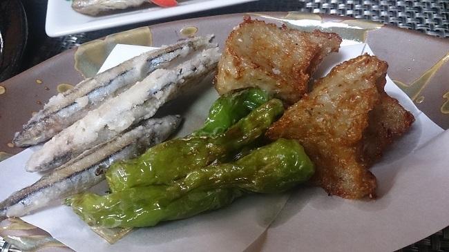 民宿大漁丸 夕食料理 魚揚物