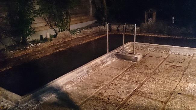 神の郷温泉 大浴場 露天風呂1