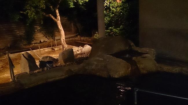 神の郷温泉 大浴場 露天風呂2