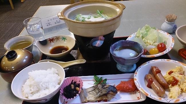 神の郷温泉 朝食