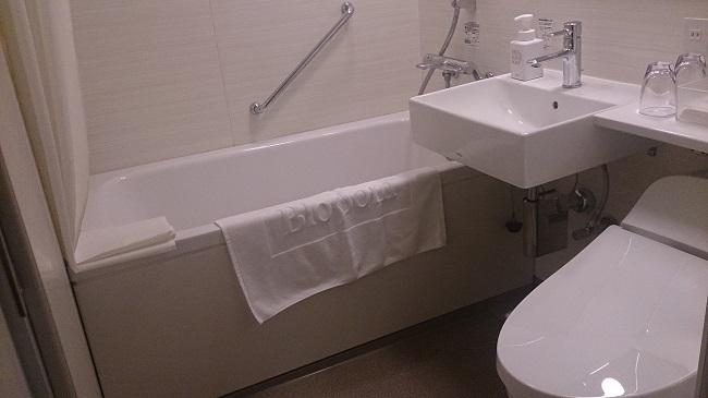 JR九州ホテル ブラッサム大分 部屋 ユニットバス