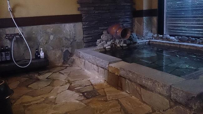 浜膳旅館 部屋 風呂 洗い場