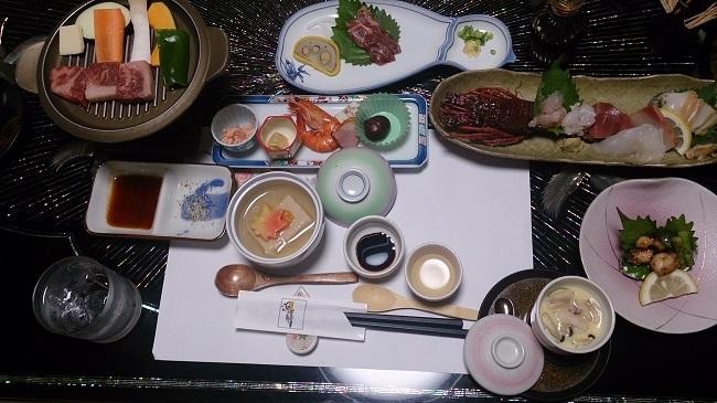 浜膳旅館 夕食料理