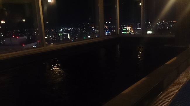 JR九州ホテル ブラッサム大分 内風呂