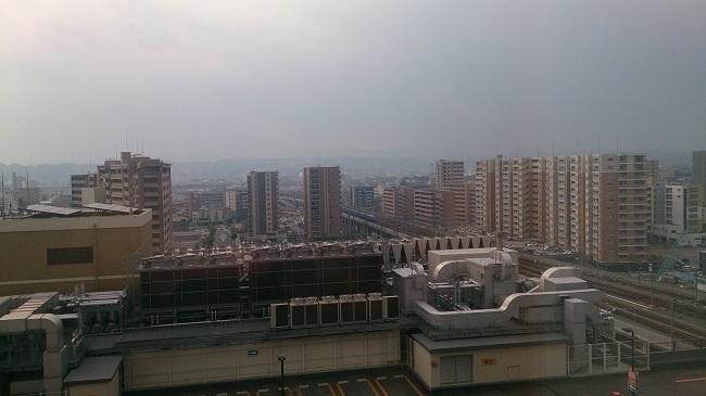 JR九州ホテル ブラッサム大分 部屋からの眺望