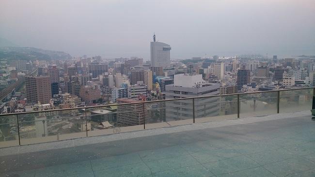 JR九州ホテル ブラッサム大分 天空露天風呂2