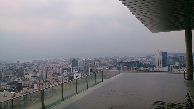 JR九州ホテル ブラッサム大分 天空露天風呂4