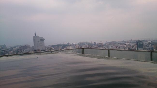 JR九州ホテル ブラッサム大分 天空露天風呂5