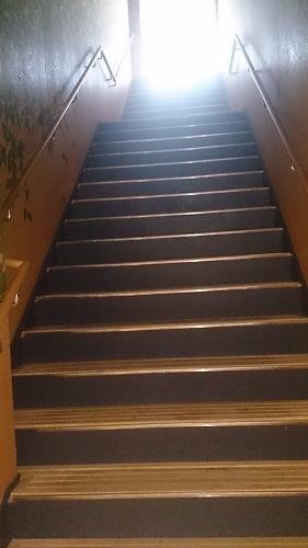 JR九州ホテル ブラッサム大分 屋上への階段