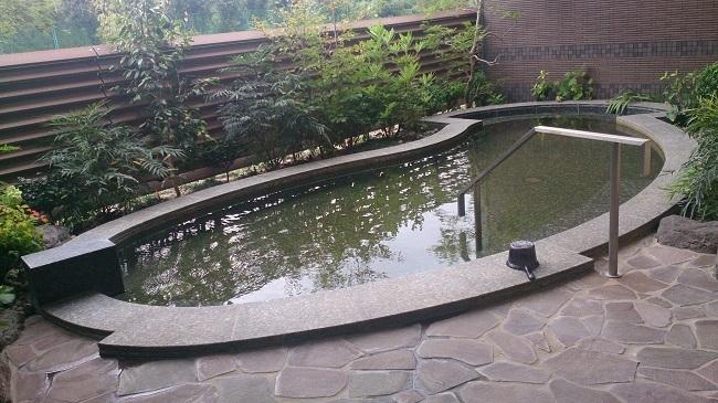 リゾーピア別府 大浴場 露天風呂1