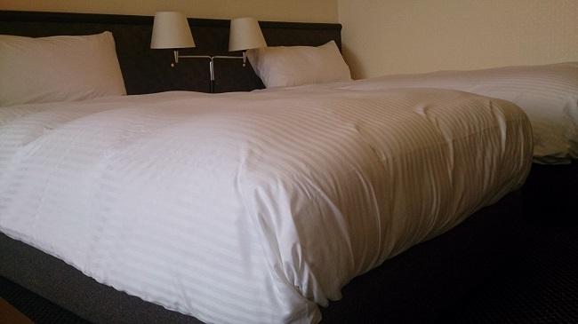 リゾーピア別府 部屋 ツインベッド