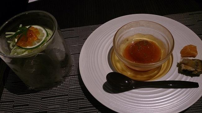 リゾーピア別府 夕食料理 前菜