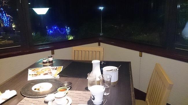 リゾーピア別府 テーブル
