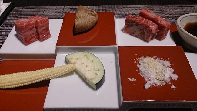 リゾーピア別府 夕食料理 牛肉
