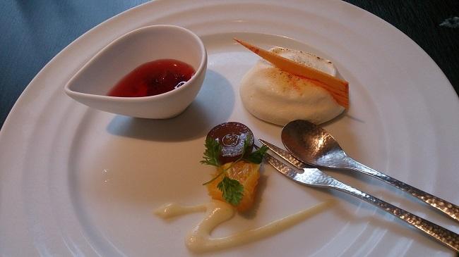 リゾーピア別府 夕食料理 デザート