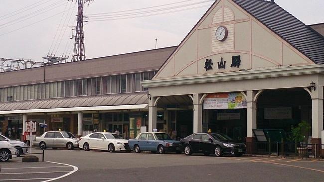 鉄道四国一周 予讃線松山駅