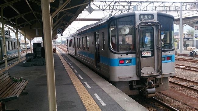 鉄道四国一周 予讃線観音寺行き